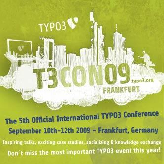 TYPO3 Konferenz 2009 Franfurt
